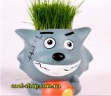 Травянчик - игрушка с травянистой головой,  купить эко-сувенир